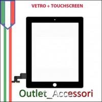 Touchscreen Vetro Ricambio per Apple Ipad Ipad1 Nero Black 3g wifi