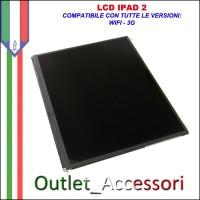 LCD Display Schermo Ricambio per Apple Ipad 2 SECONDA Generazione Wifi 3G Originale