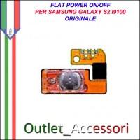 Flat Flex Cavo Ricambio Originale Power Accensione on off per Samsung Galaxy S2 I9100 Gt-I9100