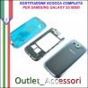 Sostituzione Cambio Assemblaggio Housing Scocca Cornice Tasti per Samsung Galaxy S3 I9300 GT-I9300