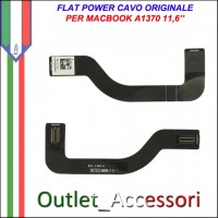 Cavo Flat Flex Power Board I/O Apple Macbook Air A1370 11,6'' Ricambio Originale