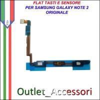Flat Flex Tasti Tastiera Sensore Prossimita' per Samsung Galaxy Note 2 Note2 N7100 Ricambio Originale