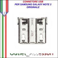 Connettore Usb Ricarica per Samsung Galaxy Note 2 Note2 N7100 Ricambio Originale