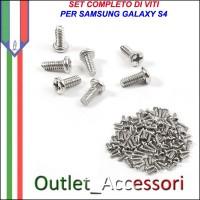 Set Kit Completo Viti vite Assemblaggio per Samsung Galaxy S4 GT-I9500 I9505