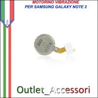Vibrazione Modulo Motorino Flat per Samsung Galaxy Note 2 N7100 N7105