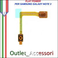 Flat Flex Cavo Power Accensione per Samsung Galaxy Note 2 N7100 N7105