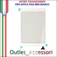 Vetro Touch Touchscreen per Apple Ipad Mini Bianco White
