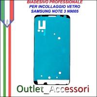 Adesivo Biadesivo Colla per Vetro Galaxy Note 3 N9005 Samsung Professionale 3M