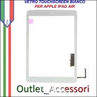 Vetro Touch Touchscreen per Apple Ipad Air Schermo Ricambio Bianco