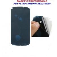 Adesivo Biadesivo Colla per Vetro Samsung Nexus I9250 Professionale 3M