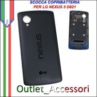Scocca Copribatteria LG Nexus 5 D820 D821 Chip NFC Housing Cover