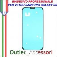 Adesivo Biadesivo Colla per Vetro Galaxy S5 G900F Samsung Professionale 3M