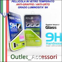 Pellicola in Vetro Temperato X-One per Apple iphone 4 4s 9H