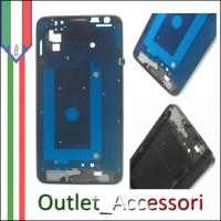 Cornice Argentata Frame Scocca Samsung Note 3 Neo N7505