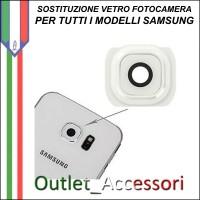 Sostituzione Cambio Vetro Fotocamera Rotta Samsung Galaxy NOTE 4 Camera Posteriore