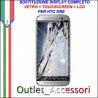 Sostituzione Riparazione Cambio Display Lcd Vetro Touch Touchscreen Schermo Rotto per HTC ONE M9