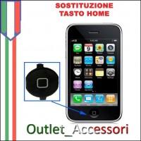 Sostituzione Tasto Home Principale per Apple Iphone 3G 3GS