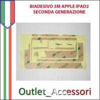 Biadesivo Adesivo 3M per Apple Touch Ipad2 3g wifi