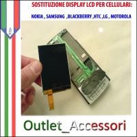 Sostituzione Riparazione Cambio Display LCD per Cellulari Nokia Samsung Htc Blackberry Lg Motorola