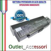 Batteria Potenziata Originale Per Notebook SONY VAIO SERIE VGN PCG VGP-BPL9 VGP-BPL9A VGP-BPL9B