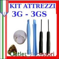 Set Kit Smontaggio Completo 2 Torx Cacciaviti 3 Leve Ganci Sollevatori Ventosa per Cellulari