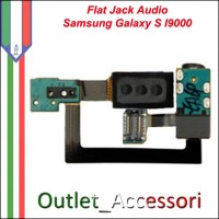Flat Flex Cavo Ricambio Originale Connettore Audio Jack per Samsung Galaxy S I9000 Gt-I9000