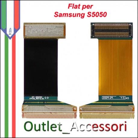 Flat Flex Slide Cavo Ricambio Originale Connettore per Samsung Galaxy S5050 Gt-S5050