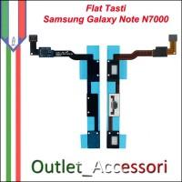 Flat Flex Tastiera Tasti Touch Cavo Ricambio Originale Connettore per Samsung Galaxy Note N7000 Gt-i9220 I9220