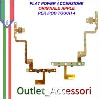 Flat Flex Cavo Power Accensione Jack Tasti per Apple Ipod Touch 4