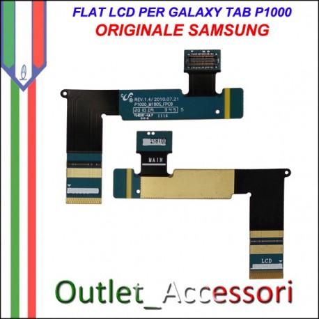 Flat Flex Slide Cavo Lcd Ricambio Originale Connettore per Samsung Galaxy Tab P1000