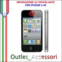 Sostituzione Riparazione Altoparlante Speaker Audio per Apple Iphone 4 4S