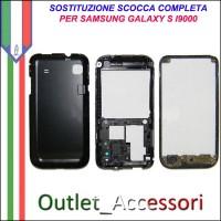 Sostituzione Cambio Assemblaggio Housing Scocca Cornice Tasti per Samsung Galaxy S I9000 GT-I9000