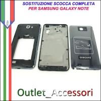 Sostituzione Cambio Assemblaggio Housing Scocca Cornice Tasti per Samsung Galaxy NOTE N7000 GT-N7000