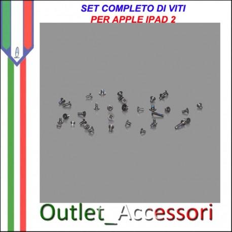 Set Kit Completo Viti Vite Assemblaggio Ricambio Originale per Apple Ipad 2 Ipad2 3g wifi