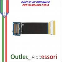Flat Flex Cavo LCD Ricambio Originale per Samsung C3310