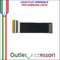 Flat Flex Cavo LCD Ricambio Originale per Samsung C5510