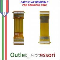 Flat Flex Cavo LCD Ricambio Originale per Samsung D520 D528