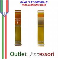 Flat Flex Cavo LCD Ricambio Originale per Samsung D840 D848