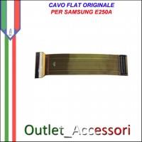 Flat Flex Cavo LCD Ricambio Originale per Samsung SGH-E250 E250