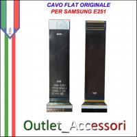Flat Flex Cavo LCD Ricambio Originale per Samsung SGH-E250I E250I SGH-E251 E251