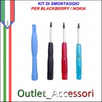 Kit Smontaggio Apertura Opening Tools BlackBerry Htc Nokia torx