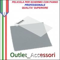 Pellicola con Panno Protezione Display Screen Protector Guard Per NOKIA LUMIA 820