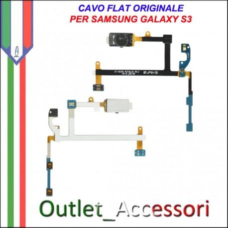 Flat Flex Cavo Audio Ricevitore Ricambio Originale per Samsung Galaxy S3 I9300
