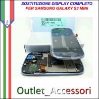 Sostituzione Riparazione Cambio Assemblaggio Display Lcd Vetro Rotto Samsung Galaxy S3 MINI I8190 GT-I8190