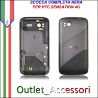 Scocca Cover Housing Completa Tasti flat per HTC Sensation 4g Pyramid Originale