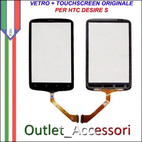 Vetro Touch Touchscreen Digitizer Ricambio Originale per HTC Desire S