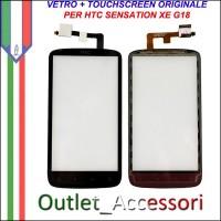 Vetro Touch Touchscreen Digitizer Ricambio Originale per HTC Sensation G18 XE Monster