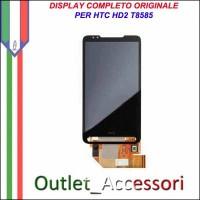 Schermo Display Vetro Lcd Touch Touchscreen per HTC HD2 T8585 Ricambio Originale