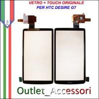 Vetro Touch Touchscreen Digitizer Ricambio Originale per HTC Desire G7