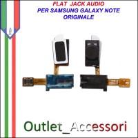 Flat Flex Connettore Jack Audio Cuffie per Samsung Galaxy Note N7000 Ricambio Originale
